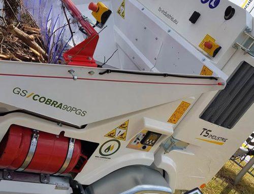 Nuevas trituradoras para ramas y material verde en Demopark'17